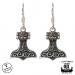 Northern Viking Jewelry® 925 Thorin Vasara Koukkukorvakorut
