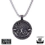 "Northern Viking Jewelry®-Riipus ""Wolf Tree Of Life"""