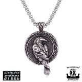 "Northern Viking Jewelry®-Riipus ""Raven Celtic Knot"""