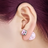 "BB-Korvakorut ""Pink Candy Pink Crystal"""