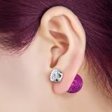 "BB-Korvakorut ""Purple Candy Crystal"""