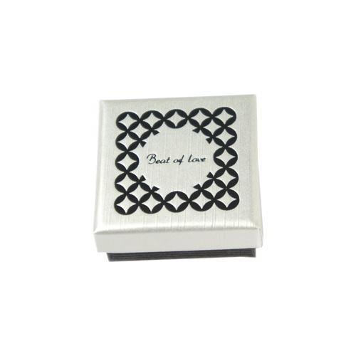 Valkoinen Beat of Love-Keraaminensormus (CR-095V-4mm)