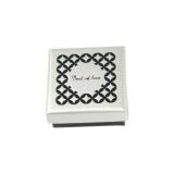 Beat of Love punakullattu hopeakaulakoru sydän zirkoneilla (BOL-N1174ZRG/40-45cm)