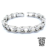 "Heavy Steel Jewelry-Ranneketju ""Motorcycle Chain Bracelet"""