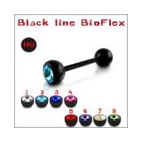 """Kivellinen Bioflex-kielikoru """"Black"""""""