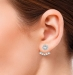 Beat of Love ear jacket hopeakorvakorut (BOL-E0663Z)
