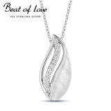 Beat of Love hopeakaulakoru zirkoneilla (BOL-N1808Z/40-45cm)
