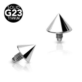 Spike Dermal Top Grade 23 Solid Titanium Internally Threaded