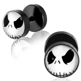 "Blacksteel Fakeplug ""Skellington Mask"""