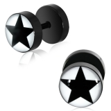 "Blacksteel Fakeplug ""Black Star"""