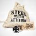 """Heavy Steel Jewelry-Ranneketju """"Attitude"""""""