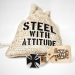 """Heavy Steel Jewelry-Ranneketju """"Loyalty"""""""