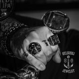 Helsinki 316 Jewelry Terässormus Skull