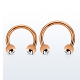 "Hevosenkenkä ""Kivellinen Rose Gold 1,6 mm"""