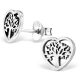 """Hopeakorvakorut """"Heart Tree Of Life"""""""