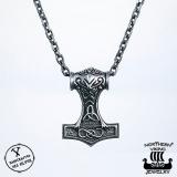 Northern Viking Jewelry® 925-Hopea Infinity Thorin Vasara