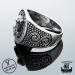 925-Hopea Riimu Thorin Vasara-Sormus, Northern Viking Jewelry