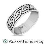 """Miesten Kelttisormus """"Celtic Knot Band Ring"""""""