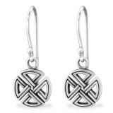 """Hopeiset korvakorut """"Silver Celtic Earrings"""""""