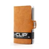 i-Clip Korttikotelo, Soft Touch Caramel