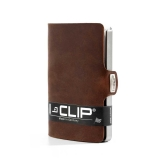 i-Clip Korttikotelo, Soft Touch Brown
