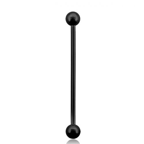 "Industrial barbell ""Blacksteel"""