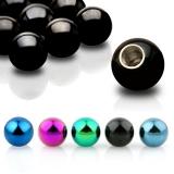 """5kpl Irtopalloja 1,6 mm """"5 Pcs Value Pack of 316L Surgical Stainless Steel Balls"""""""