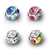 """Irtopallo kivellä 6 mm (1,6 mm) """"Multi Jeweled"""""""