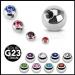 """4kpl Irtopalloja 1,6 mm """"4 Pcs Value Pack of Titanium Gem Balls"""""""