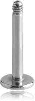 Kirurginteräs Irtorunko Huulikoruille 1.6 mm