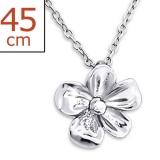 "Hopeinen kaulakoru ""Silver Flower Necklace"""