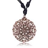 "Kaulakoru Bronze and Copper Collection ""Rose bronze geometric"""