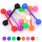 5 kpl Value Pack Flexible Solid Ball Acrylic Flexible Barbell