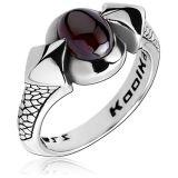 "Kool Katana-Sormus ""Ring With Garnet"""
