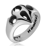 "Kool Katana-Sormus ""Ring With Bat Emblem"""