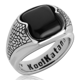 "Kool Katana-Sormus ""Ring With Onyx"""