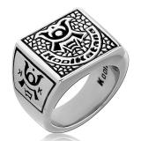 "Kool Katana-Sormus ""Square Signet Ring"""