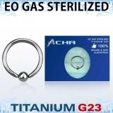 """Sterile Titanium Grade 23 """"Bcr"""" 1,2 mm"""