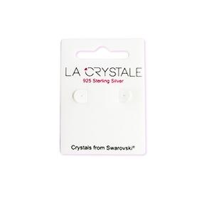 """Hopeiset korvakorut """"La Crystale Teardrop Earrings with Swarovski®"""""""