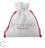 "Hopeiset Swarovski-korvakorut ""La Crystale Silver Antique"""