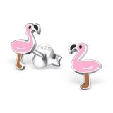 """Hopeiset Lasten Korvakorut """"Flamingo"""""""