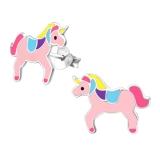"""Hopeiset Lasten Korvakorut """"Pink Unicorn"""""""