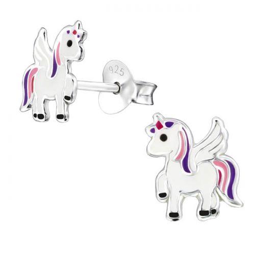"Hopeiset Lasten Korvakorut ""Colorful Flying Unicorn"""