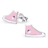 """Hopeiset Lasten Korvakorut """"Pink Sneaker"""""""