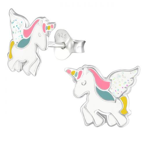 "Hopeiset Lasten Korvakorut ""Flying Unicorn"""