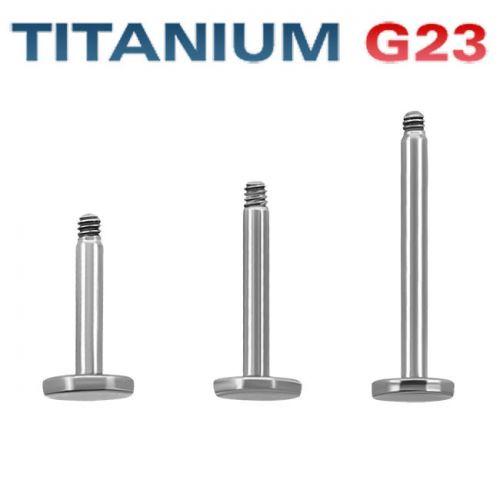 3kpl Irtorunkoja Huulikoru 1,6 mm Titaani G23