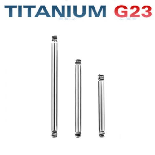 3kpl Irtorunkoja Kielikoru 1,6 mm Titaani G23