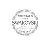 "Swarovski®-Kaulakoru ""Silver Heart Necklace With Moonlight Crystals"""