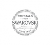 """Hopeiset Swarovski-korvakorut """"La Crystale Crystal Heart"""""""