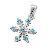 "Hopeariipus ""Silver Snowflake CZ"""